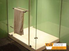 #EVAkote #DecorativeGlass #CohesionInteriors Bathrooms, Colours, Interior, Bathroom, Indoor, Full Bath, Interiors, Bath