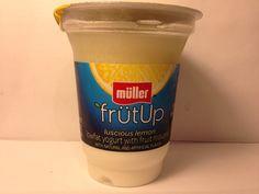 Crazy Food Dude Review: Muller FrutUp Luscious Lemon Lowfat Yogurt with Fruit Mousse