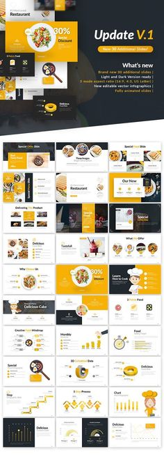 Buy Delicious Presentation Template by BrandEarth on GraphicRiver. Overview: Flat, Clean, Minimalist, Elegant and Flexible PowerPoint Presentation Template, perfect for presentation c. Presentation Design Template, Presentation Layout, Business Presentation, Powerpoint Presentation Templates, Web Design, Slide Design, Layout Design, Template Web, Layout Template