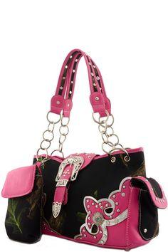 {Faux Leather Designer Top Handle Bag}