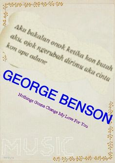 Java lyric of george benson! Like it?:)