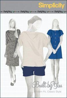 582e5b5691d Simplicity 2863 - Built by Wendy Knit dress