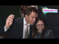 Michael Weatherly greets fans while departing CBS 2012 Fall Premiere Party in West Hollywood