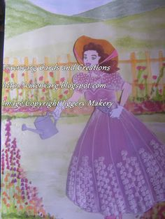 vixenvarg: Jiggery Makery....Crinoline Lady
