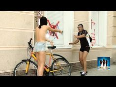 Naked and Funny Hot Robber - YouTube
