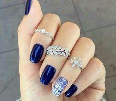 Nails #blue