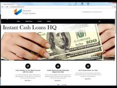 Video:  How to get an instant cash loan online when you need money during a financial emergency!