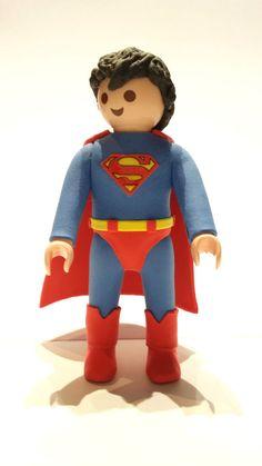 FIGURA CUSTOM Superman -  PLAYMOBIL