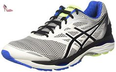 Gel-Pulse 9, Chaussures de Running Homme, Multicolore (Carbon/Silver/Safety Yellow 9793), 43.5 EUAsics