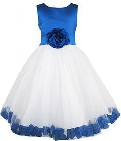 Sunny Fashion Robe Fille Bleu Fleur Tulle Mariage Demoiselle d'honneur 9-10 ans Sunny Fashion http://www.amazon.fr/dp/B00HQWGT0U/ref=cm_sw_r_pi_dp_3oXAub0EBDJN0