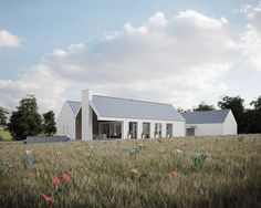 All Projects — McGarry-Moon Architects Modern Barn House, Armagh, Rural House, Farmhouse Renovation, Architects, Irish, Shed, Moon, Exterior