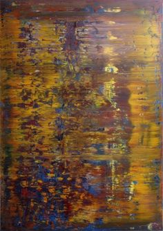 Gerhard Richter, Tableau abstrait, 1987,  Catalogue Raisonné: 643-4. http://www.gerhard-richter.com/art/paintings/abstracts/detail.php?paintid=7620