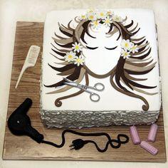 Hairdresser Birthday Cake! So cool!