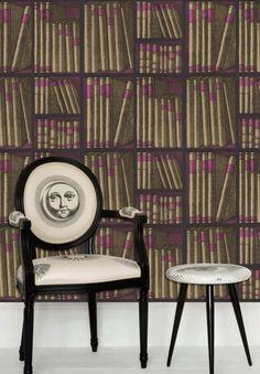 Tapete Ex Libris - Designtapete von Cole and Son