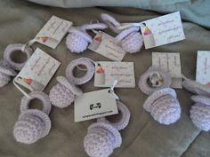 recuerdo para nacimiento en crochet