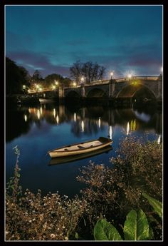 Richmond bridge, Greater London