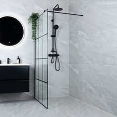 Celeste nero dusjvegg - venstre m/ sikkerhetsfolie, sort - MegaFlis.no Celeste, House, Interior, Home Decor, Bathroom, Coat Rack, Glass, Interior Design, Bathtub