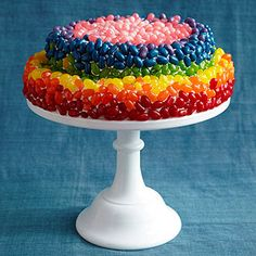 Pin to Win! Birthday Cakes Galore: Rainbow Connection (via Parents.com)
