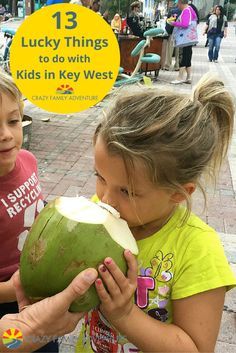 The Sunset Celebration at Mallory Square is a great time for adults and kids!