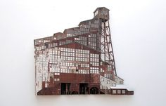 Juxtapoz Magazine - The Salvaged Wood Sculptures of Ron van der Ende