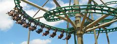 Swamp Thing at Wild Adventures theme park Whiskey Lullaby, Swamp Thing, Roller Coasters, Amusement Park, Best Vacations, Vacation Ideas, Parks, Belts, Safety