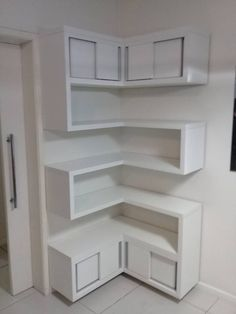 Decorating a room can be managed in so many ways, start from adding pictures to decorating shelves. What shelving ideas would you like to apply in your room, an Home Decor Furniture, Diy Home Decor, Furniture Design, Corner Furniture, Smart Furniture, Home Interior Design, Interior Decorating, Home Organization, Shelving