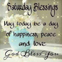 Happy Saturday! I hope you have a perfect weekend!! #newday #happyweekend #enjoy #perfectday #goodlife #thesimplethings #saturdaylove #happysaturday #lovelyday #awesome #peace #blessings #saturday