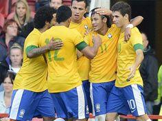 Brazil´s soccer team - London 2012