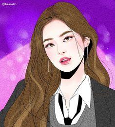 #JENNIE in uniform #AsIfItsYourLast #fanart [hyeonsori]