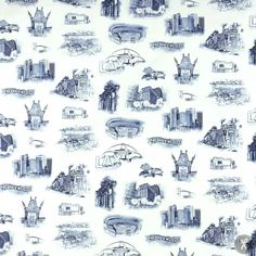 Urban Toile Canvas LA Scenes - Denim