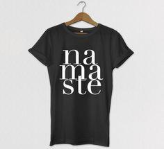 namaste Tshirt Graphic Tee Clothing Celebrity by HOUSEofKOLESON