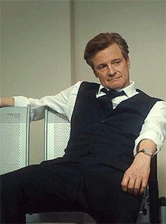"""""Colin Firth as Mark Darcy Bridget Jones Movies, Bridget Jones Baby, Colin Firth, Mr Darcy, Kingsman, How To Pose, British Actors, Pride And Prejudice, Best Actor"