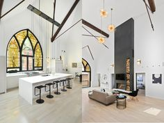 Majestic church is transformed into a gorgeous modern family home