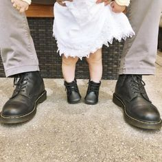 MINI DOC'S: Show us how you rock your Doc's with your mini me's, with #minidocs. Photo by corazoncreativoblog.