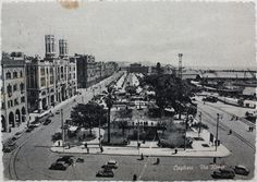 Cagliari – old postcard from '50