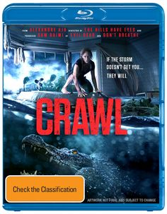 Buy Crawl Blu-Ray At Sanity Online Or In Store. Entertaining Movies's on Sale Now. Entertaining Movies, Sam Raimi, Dvd Blu Ray, Horror Movies, I Movie, Dads, Movie Posters, Horror Films, Film Poster