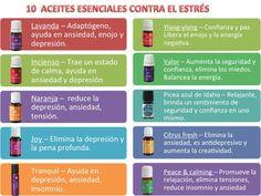 Aceites esenciales contra el estrés.  #EstresDigital #AceitesEsenciales #Antiestres