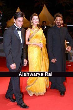 Aishwarya Rai at Cannes Aishwarya Rai Images, Aishwarya Rai Photo, Aishwarya Rai Bachchan, Basic Makeup Kit, Bride And Prejudice, Sanjay Leela Bhansali, Bollywood Couples, Maid Of Honor, Cannes
