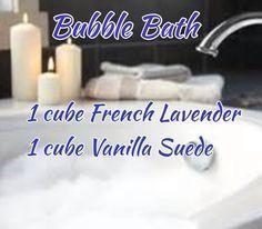 Bubble bath Scentsy Recipes #scentsy #scentsyrecipe