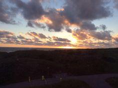 Holland  Sonnenuntergang