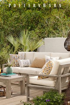 Warm weather-ready: create an outdoor oasis perfect for afternoon naps and backyard barbecues.