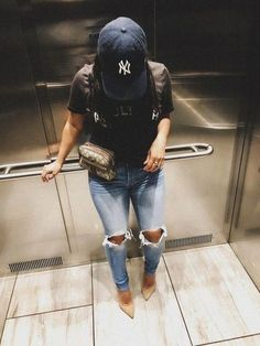 casual womens fashion looks amazing! Mode Outfits, Fall Outfits, Casual Outfits, Fashion Outfits, Womens Fashion, Fashion Trends, Fashion Hats, Fashion Ideas, Skirt Outfits