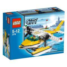 LEGO City 3178: Seaplane - http://www.cheaptohome.co.uk/lego-city-3178-seaplane/