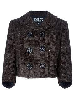 Dolce   Gabbana Vintage Double Breasted Jacket - Farfetch b2b9d44bee1