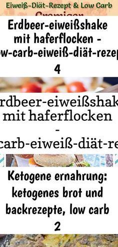 Erdbeer-eiweißshake mit haferflocken - low-carb-eiweiß-diät-rezept 4 2 ,  #Erdbeereiweißshake #haferflocken #LowCarbEiweißDiätRezept #mit Pet Water Fountain, Crack Chicken, About Me Blog, Baking, Life, Recipes, Oats Recipes, Protein Diets, 500 Calories