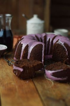 Rotweinkuchen - Red wine Cake