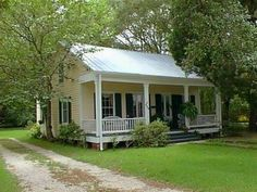 Cottage Home Plans Creole Style House Cajun Beach Cottage Style, Cottage Style Homes, Romantic Cottage, Beach Cottage Decor, French Cottage, Cozy Cottage, Backyard Cottage, Country French, Cottage Ideas