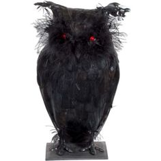 Light-Up Creepy Owl 12in - Party City