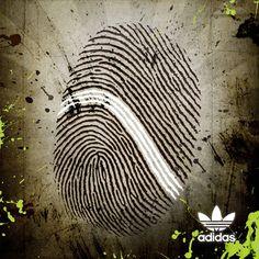 adidas print advertisement fingerprint