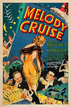 Melody Cruise. June Brewster, Shirley Chambers, Chick Chandler, Marjorie Gateson, Phil Harris, Charles Ruggles. Directed by Mark Sandrich. RKO. 1933